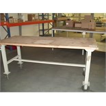 2.0m x 1m heavy duty portable WORKBENCH