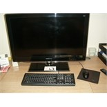 "Acer Veriton M2631G PERSONAL COMPUTER with Hannspree 32"" flat screen monitor, keyboard and mouse"