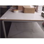 2.6m x 1.5m LAMINATED PACKING TABLE
