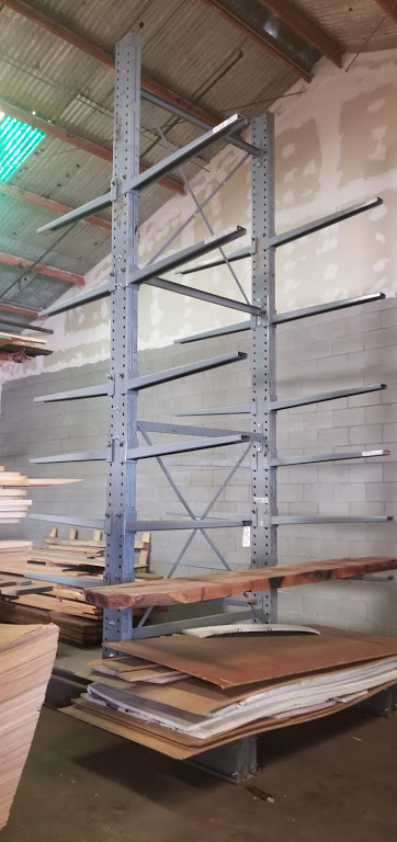 """Cantilever Racking/Shelving Double Sided 18' Uprights (Qty. 2) 48"""" Arms (Qty. 24)"""