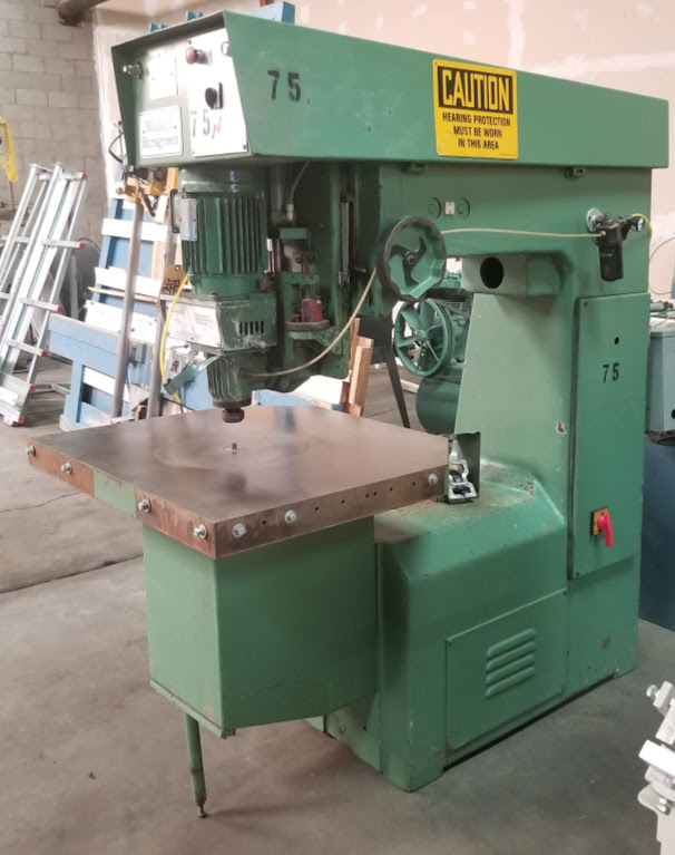 "Wakin Busgreen 36"" Pin Router Machine, #:4X/B/1/81351 4HP - Image 2 of 5"