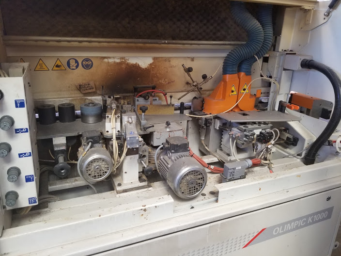 SCMi Edge Bander, Model: Olympic K1000 Serial: AH/11376 230 Volts 3Phase - Image 4 of 13