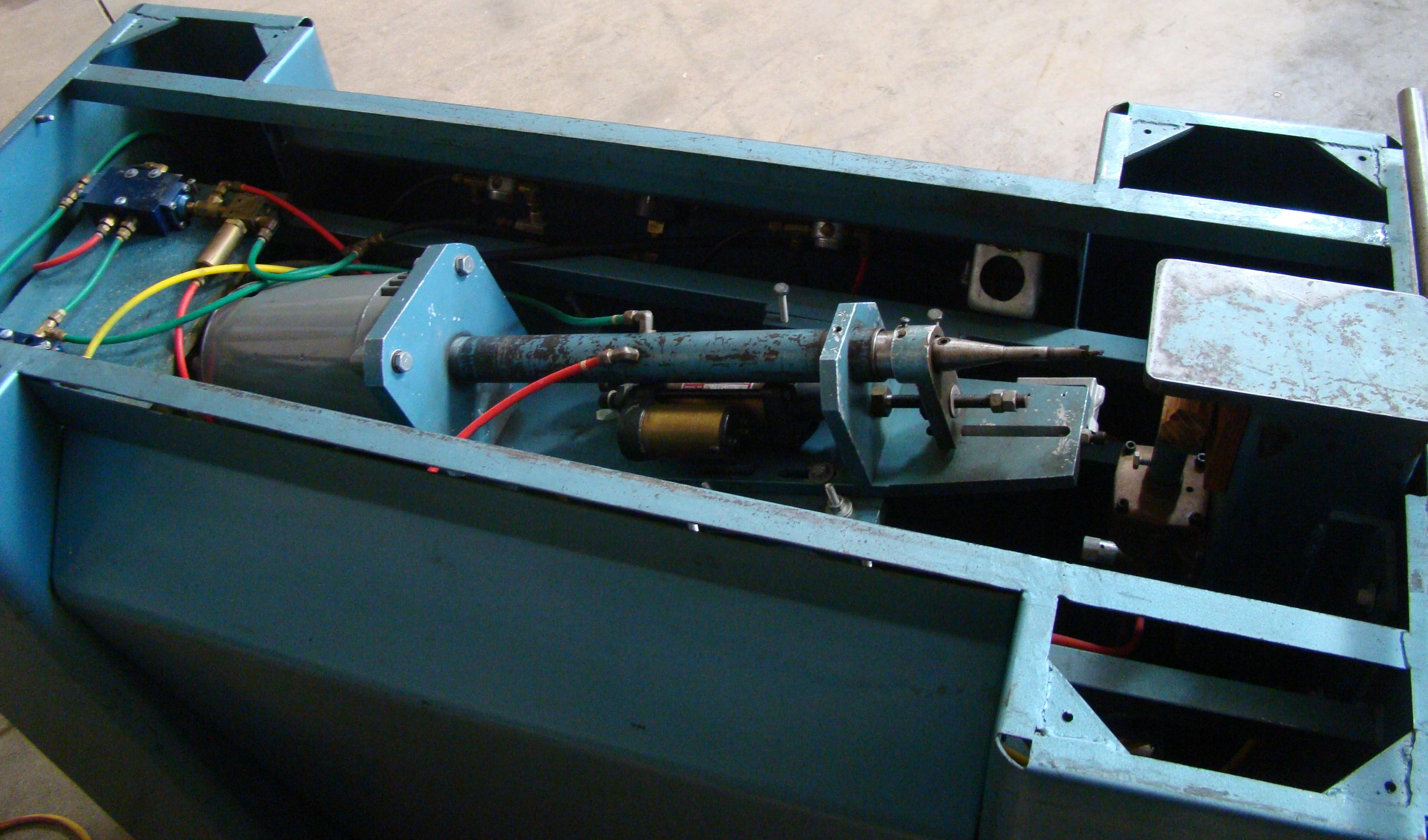 Unique Machine 1 Spindle Pocket Boring Machine, 115 Volts (On Wheels) - Image 2 of 4