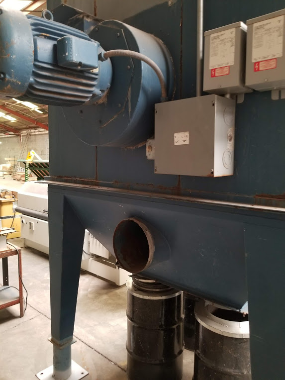 Torit Dust Collector Bag House, Model: MIC-770-455 230/460Volts 15HP 3Phase - Image 7 of 11