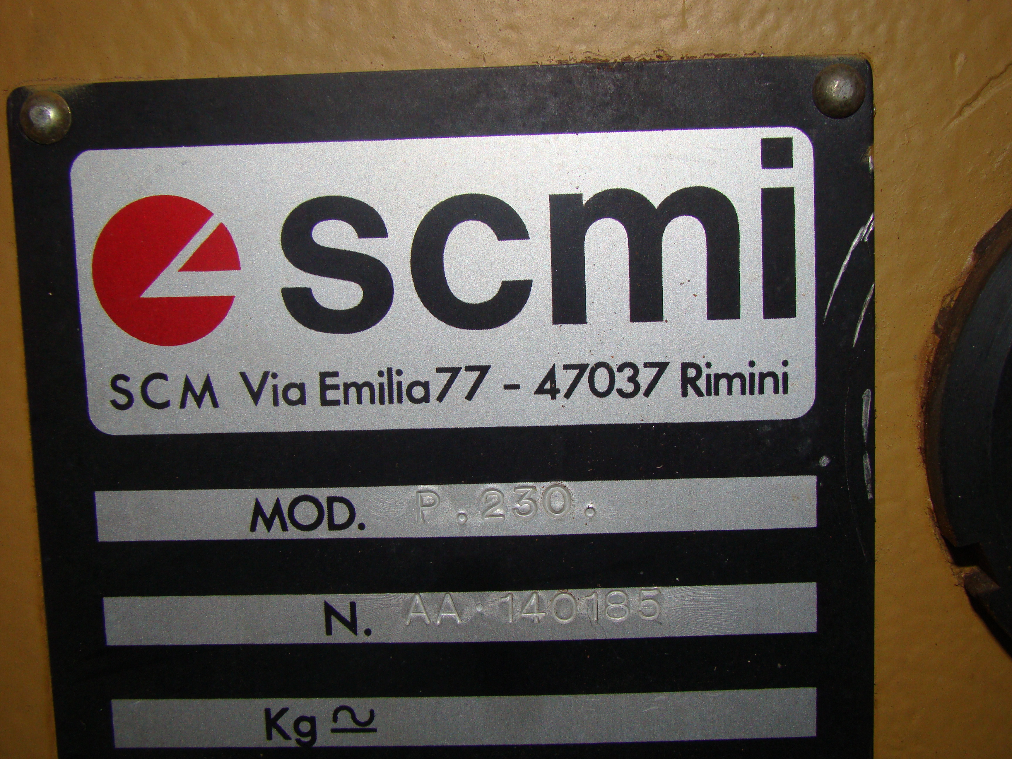 """SCMi 9"""" Wood Moulder, Model: P230 5 Head 6.6HP 220/440 Volts 3Phase - Image 5 of 14"""