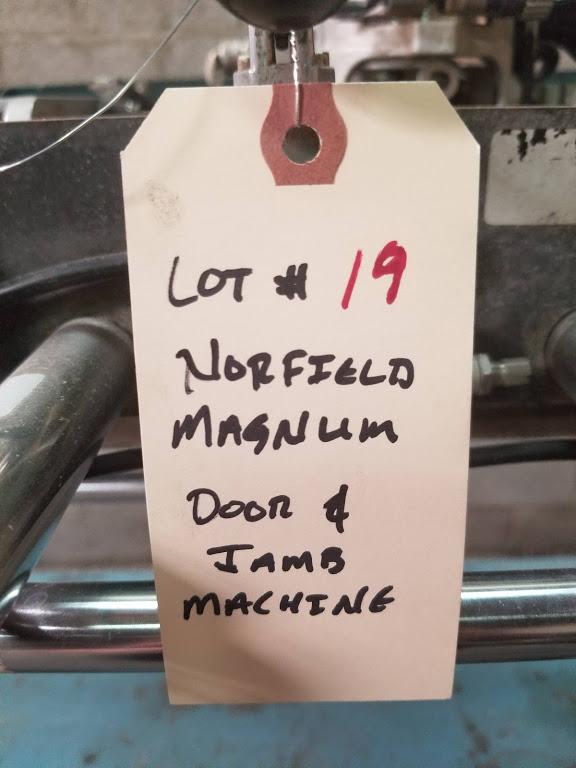 Norfield Door & Jamb Machine, Model: Magnum - Image 6 of 9