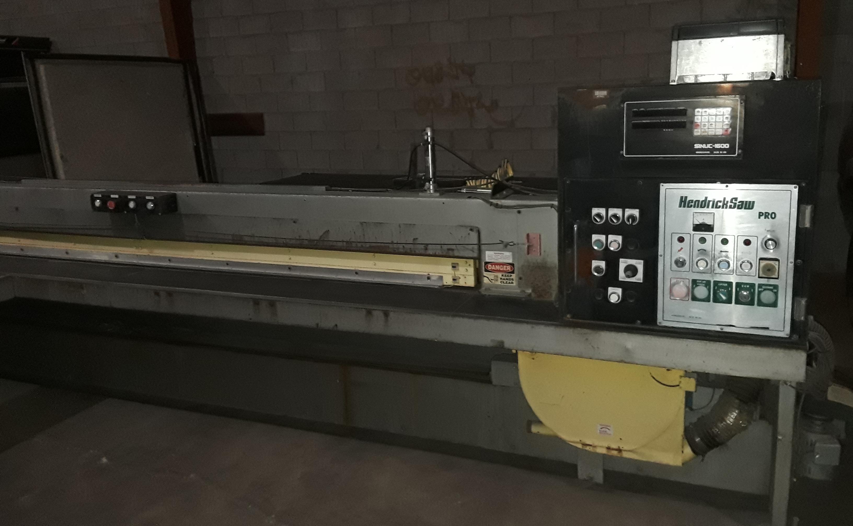 Hendrick Front Load Panel Saw, Pro H 126 220 volt 3 phase