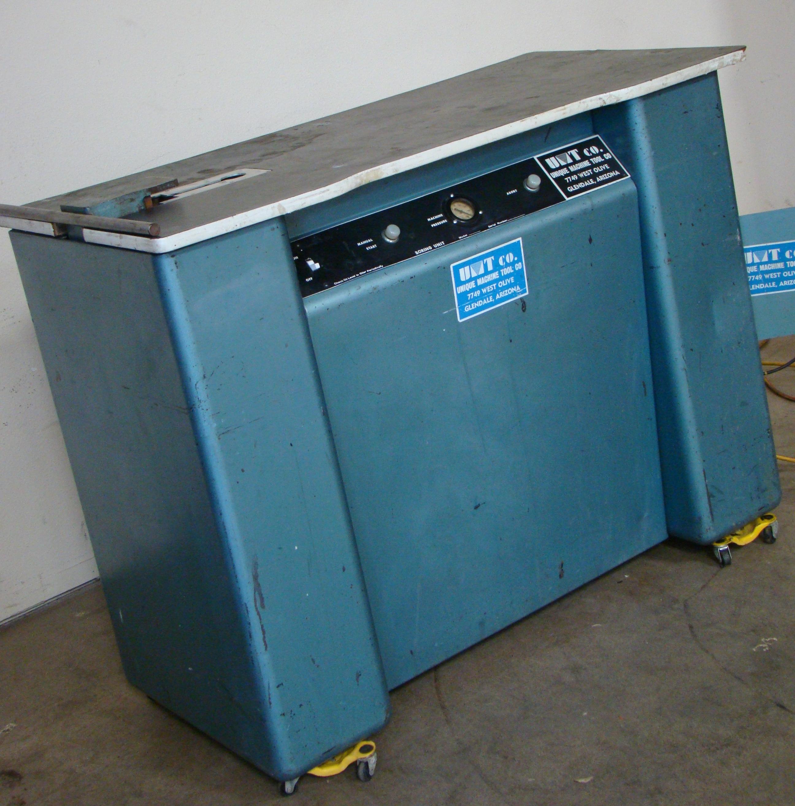 Unique Machine 1 Spindle Pocket Boring Machine, 115 Volts (On Wheels) - Image 4 of 4