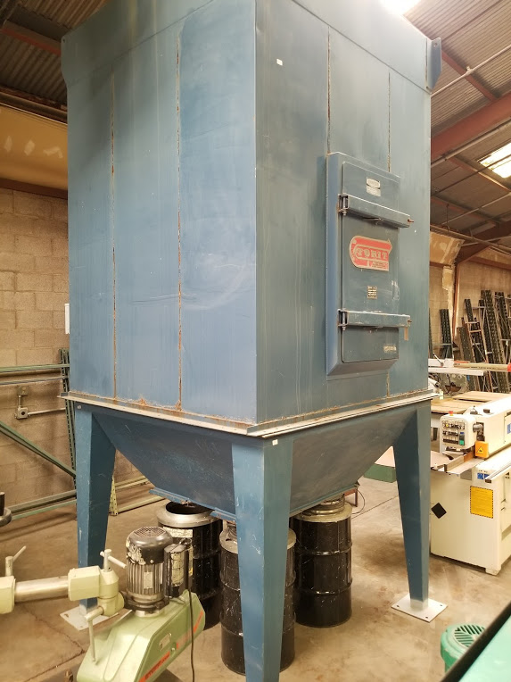 Torit Dust Collector Bag House, Model: MIC-770-455 230/460Volts 15HP 3Phase - Image 6 of 11
