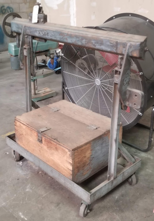 Oliver Strato Plane Grinder Stand w/ Wheels - Image 3 of 3