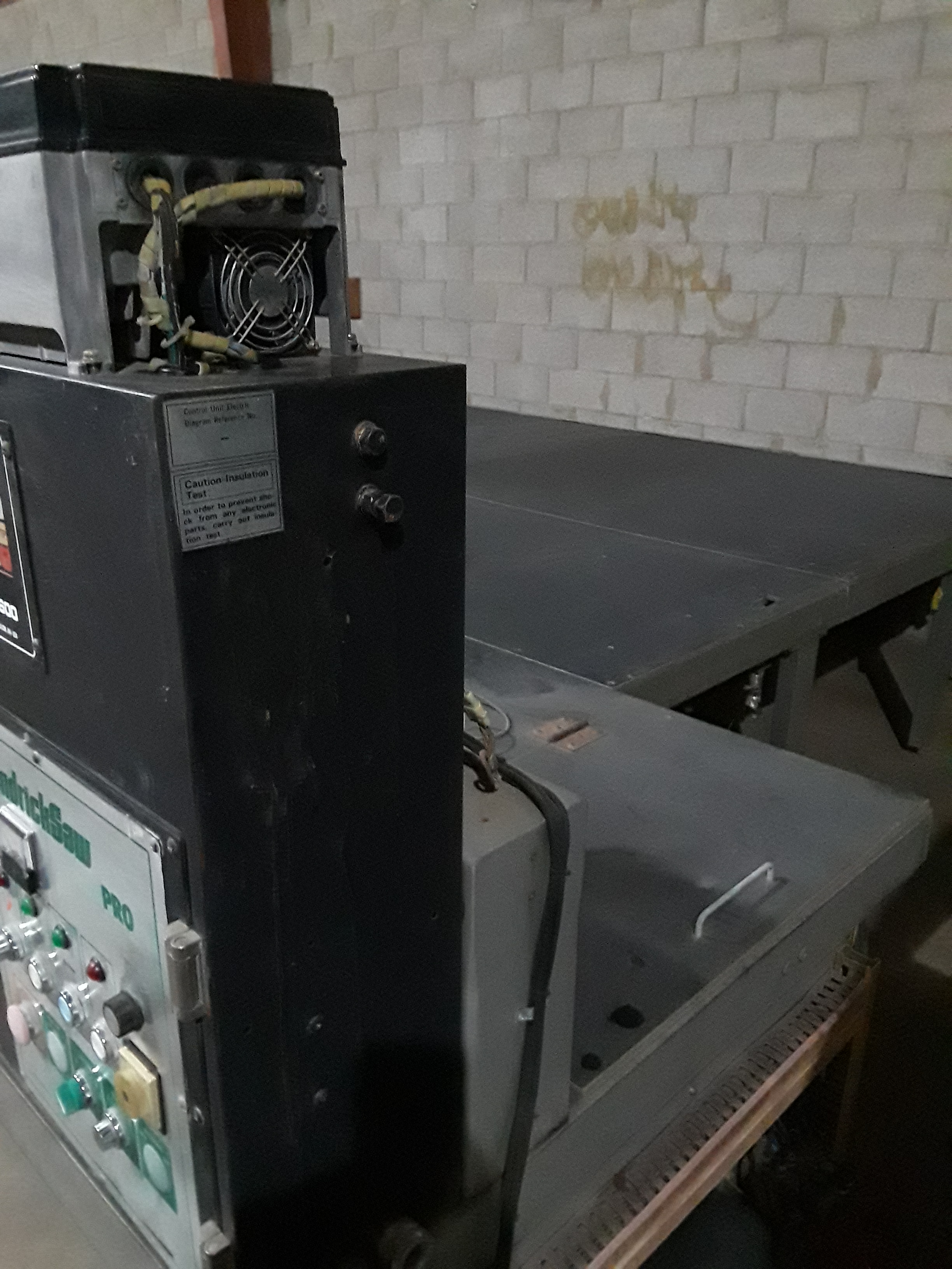 Hendrick Front Load Panel Saw, Pro H 126 220 volt 3 phase - Image 7 of 12