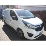 Vauxhall Vivaro, Registration ST65 WWH, Odometer 60,078 miles, No current MOT, Date of first