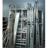 Alloy Scaffold tower and Various Wheels & Sections