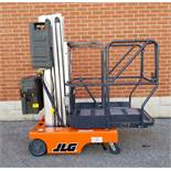 """JLG (2006) 15SP PUSH AROUND STOCK PICKER WITH 500 LB. CAPACITY, 180"""" MAX. WORK HEIGHT, ON-BOARD"""