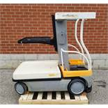 """CROWN (2010) WAV50-118 24V ELECTRIC ORDER PICKER WITH 500 LB. CAPACITY, 118"""" VERTICAL LIFT, BUILT-IN"""