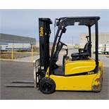 """YALE ERP040TVN36TE082 36V ELECTRIC FORKLIFT WITH 4000 LB. CAPACITY, 187"""" MAX. VERTICAL LIFT"""