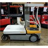 """CROWN (2012) WAV50-118 24V ELECTRIC ORDER PICKER WITH 500 LB. CAPACITY, 118"""" VERTICAL LIFT, BUILT-IN"""