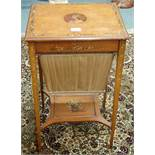 An early 20th Century sewing table Condition Report: Available upon request