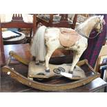 A small Victorian rocking horse (def) Condition Report: