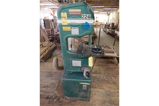 Powermatic Model 141 14 Inch Vertical Wood Cutting Bandsaw Sn