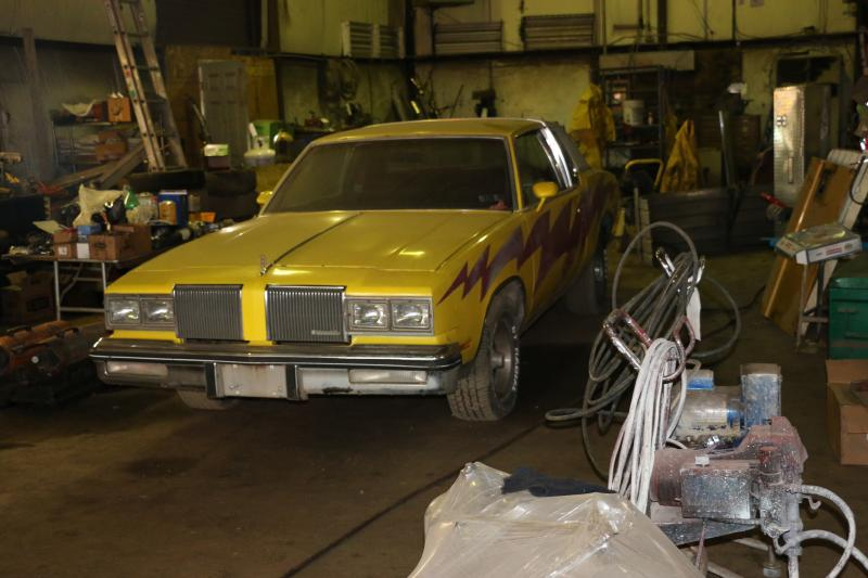 Lot 114 - 1980 Oldsmobile Cutlass Ciera, VIN 3M47FAM532885 with Edelbrock V8 Engine, 4-Barrel Carburetor,