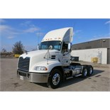 MACK, CXU613, TRUCK TRACTOR, DAY CAB, MACK MP7 DIESEL ENGINE, 10 SPEED MANUAL TRANSMISSION, 413,