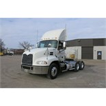 MACK, CXU613, TRUCK TRACTOR, DAY CAB, MACK MP7 DIESEL ENGINE, 10 SPEED MANUAL TRANSMISSION, 412,