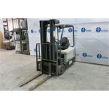 "CROWN, SC5245-40, 3,700 LBS., 3 STAGE, 48V,BATTERY POWERED, FORKLIFT, SIDESHIFT, 190"" MAXIMUM"