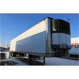 TRAILMOBILE, 53' REFRIGERATED VAN TRAILER, ROLLUP DOOR, CARRIER, PHOENIX ULTRA, REEFER, 24,817 HOURS