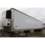 TRAILMOBILE, 53' REFRIGERATED VAN TRAILER, BARN DOORS, THERMO KING, SB-210, REEFER, 14,515 HOURS