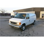 FORD, E250, CARGO VAN, GASOLINE ENGINE, CUSTOM BUILT HOIST SYSTEM, 353,466 KM, VIN#
