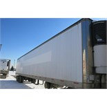 TRAILMOBILE, 53' REFRIGERATED VAN TRAILER, ROLLUP DOOR, CARRIER, PHOENIX ULTRA, REEFER, 1999,