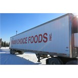 UTILITY, 3000R, 53' REFRIGERATED VAN TRAILER, BARN DOORS, THERMO KING, SB-210, REEFER, 14,670 HOURS,