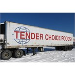TRAILMOBILE, 53' REFRIGERATED VAN TRAILER, BARN DOORS, THERMO KING, REEFER, 17,932 ENGINE HOURS