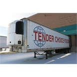 TRAILMOBILE, 53' REFRIGERATED VAN TRAILER, BARN DOORS, THERMO KING, SB-210, REEFER, 16,856 HOURS,