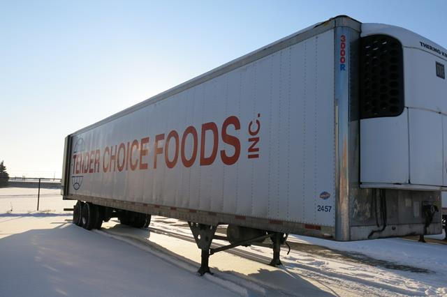Lot 40 - UTILITY, 3000R, 53' REFRIGERATED VAN TRAILER, BARN DOORS, THERMO KING, SB-210, REEFER, 26,734 HOURS,