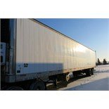 TRAILMOBILE, 53' REFRIGERATED VAN TRAILER, ROLLUP DOOR, THERMO KING, SB-210+, REEFER, 12,296
