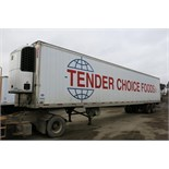 UTILITY, 3000R, 53' REFRIGERATED VAN TRAILER, BARN DOORS, THERMO KING, SB210, REEFER, 20,544 HOURS
