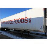 UTILITY, 3000R, 53' REFRIGERATED VAN TRAILER, BARN DOORS, THERMO KING, SB-210, REEFER, 21,167 HOURS,