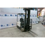 "CROWN, SC5245-40, 3,700 LBS., 3 STAGE, 48V, BATTERY POWERED, FORKLIFT, SIDESHIFT, 222"" MAXIMUM LIFT,"
