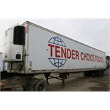 UTILITY, 3000R, 53' REFRIGERATED VAN TRAILER, BARN DOORS, THERMO KING, SB210, REEFER, 24,746 HOURS
