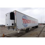 UTILITY, 3000R, 53' REFRIGERATED VAN TRAILER, BARN DOORS, THERMO KING, SB-210, REEFER, 2004, VIN#