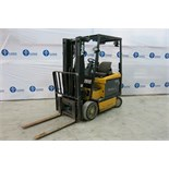 YALE, ERC050GHN48TE084, 5,000 LBS., 3 STAGE, 48V, BATTERY POWERED, FORKLIFT, SIDESHIFT, CHARGER,