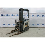 "CROWN, RMD6025-32, 3,200 LBS., 48V, BATTERY POWERED REACH TRUCK WITH CHARGER, 210"" MAXIMUM LIFT, 2,"