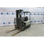 "CROWN, SC5245-40, 3,700 LBS., 3 STAGE, 48V, BATTERY POWERED, FORKLIFT, SIDESHIFT, 190"" MAXIMUM LIFT,"