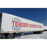 UTILITY, 3000R, 53' REFRIGERATED VAN TRAILER, BARN DOORS, THERMO KING, SB-210, 16,374 HOURS, 2009,