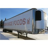 TRAILMOBILE, 53' REFRIGERATED VAN TRAILER, BARN DOORS, THERMO KING, SB-210, REEFER, 16,606 HOURS,