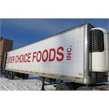 TRAILMOBILE, 53' REFRIGERATED VAN TRAILER, BARN DOORS, THERMO KING, SB-210, REEFER, 12,330 HOURS,