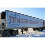 TRAILMOBILE, 53' REFRIGERATED VAN TRAILER, BARN DOORS, THERMO KING, SB-210, REEFER, 15,668 HOURS,