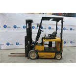 "YALE, ERC050GHN48TE084, 5,000 LBS., 3 STAGE, 48V, BATTERY POWERED, FORKLIFT, SIDESHIFT, 195"" MAXIMUM"